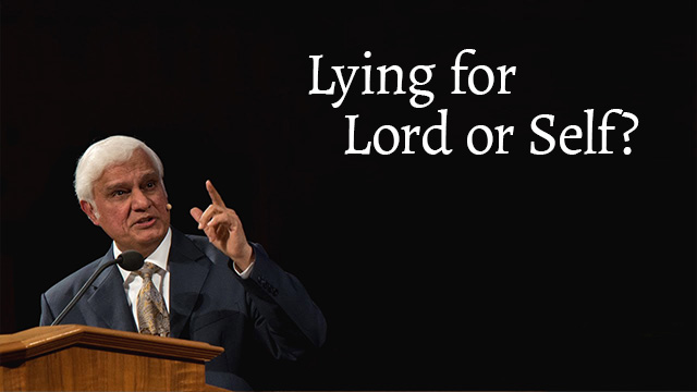 Lying For Lord Or Self